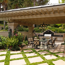 Traditional Patio by David Brandsen Construction Inc.