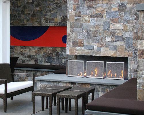 Modern fireplace screen houzz - Houzz fireplace screens ...