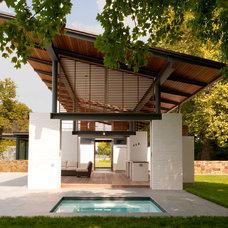 Modern Patio by McInturff Architects