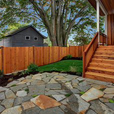 Craftsman Patio by Isola Homes