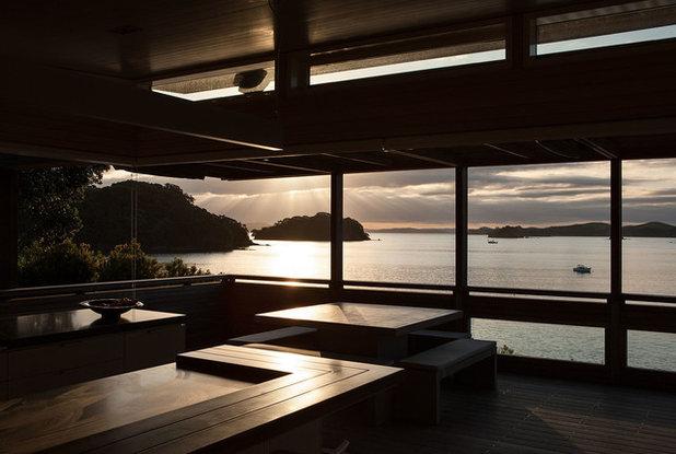 Contemporary Patio by Studio Pacific Architecture