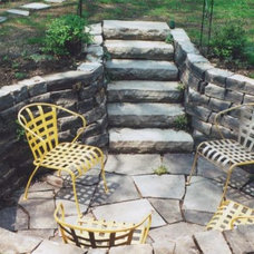 Traditional Patio by Ray Johannes Landscape Design