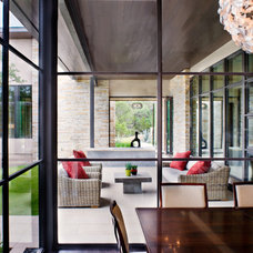 Contemporary Patio by LaRue Architects