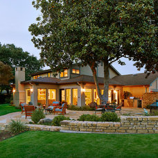 Traditional Patio by Michael Lyons Architect