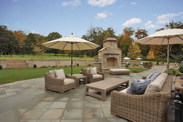 Traditional Patio by L&L Builders Corp