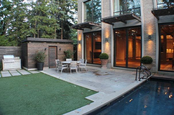 Contemporary Patio by Irwin Allen Design Build Inc.
