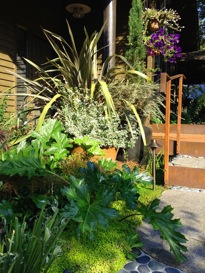 Traditional Patio by Folia Horticultural + Design