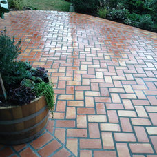 Traditional Patio by Rustico Tile and Stone