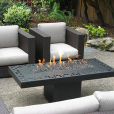 Contemporary Firepits by Aztec Artistic Productions
