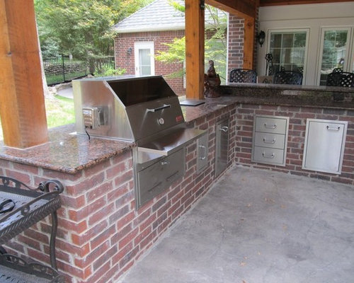 Red Brick Outdoor Kitchen – Brick Outdoor Kitchen
