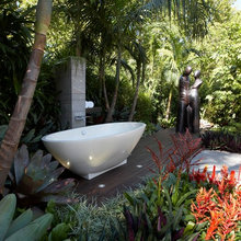 Take It Outside: 10 Ideas for Outdoor Bathrooms