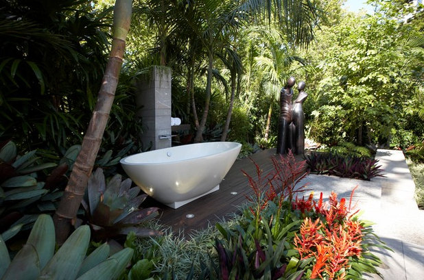 Modern Patio by Dean Herald-Rolling Stone Landscapes