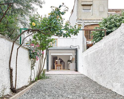 Ideas para patios Diseos de patios pequeos con huerto