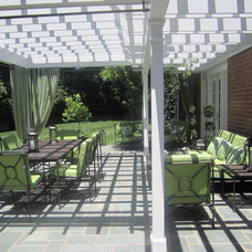 Traditional Patio by JB Interiors, Inc.