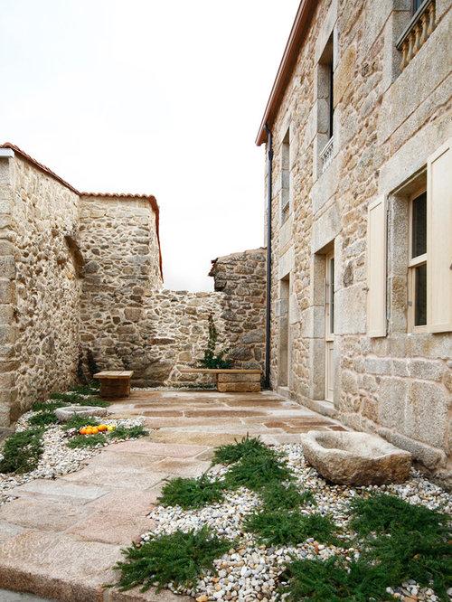 Ideas para patios dise os de patios r sticos - Azulejos rusticos para patios ...