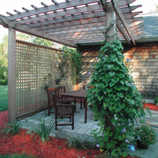 Traditional Patio by Modern  Yankee Builders