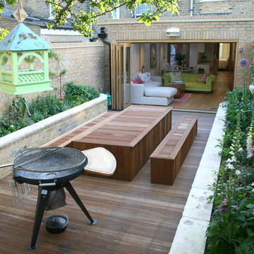 Remodelling and extension to flat in Earlsfield