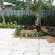 Modern Patio by Seacrest Pools