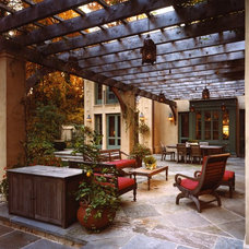 Traditional Patio by Barnes Vanze Architects, Inc