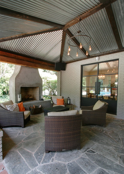 Contemporary Patio by Norwood Architects