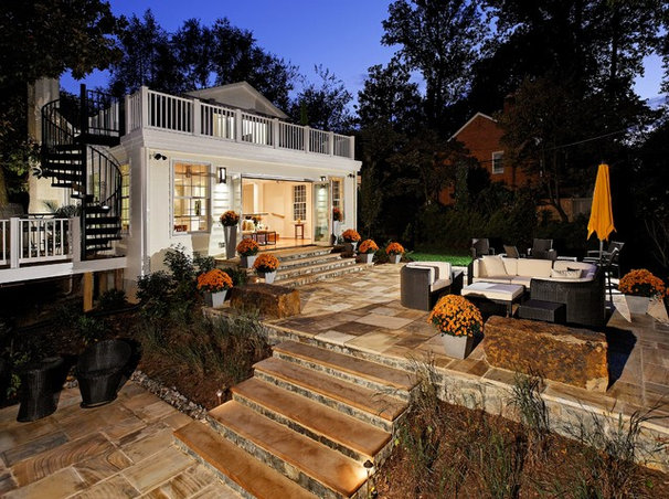 Traditional Patio by Smiley Renovations