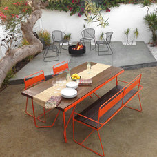 Modern Patio by haskell