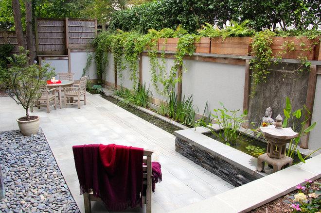 Asian Patio by JHLA | Jennifer Horn Landscape Architecture