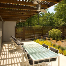 Contemporary Patio by Colangelo Associates Architects