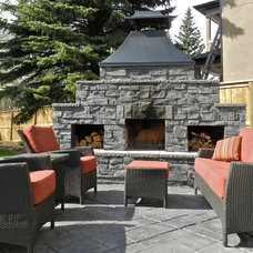Traditional Patio by Year Round Landscaping