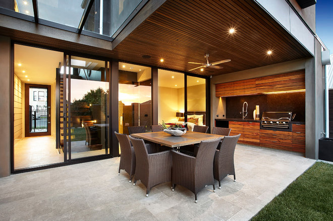 contemporary patio by Bagnato Architects