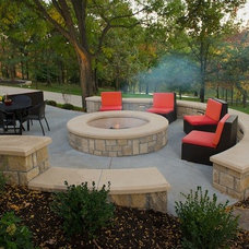 Traditional Patio by Meier Consulting