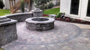 Residential Front & Back Patio with Multiple Features