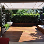 Batten Awnings - Contemporary - Deck - Sydney - by Outrigger Awnings and Sails, Sydney