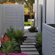 Contemporary Patio by Fuse Landscape Design