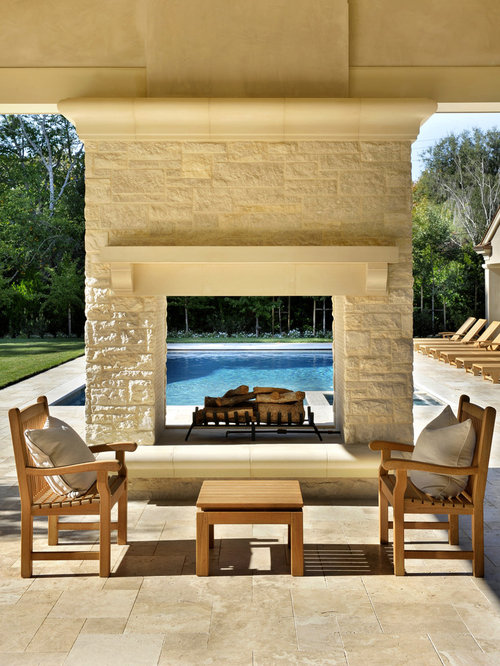 double sided outdoor fireplace home design ideas pictures remodel