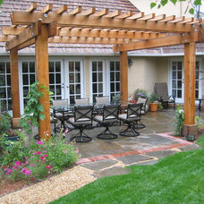traditional patio by Verdance Fine Garden Design
