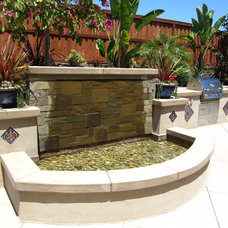 mediterranean patio by Hamilton Design Group - Landscape Architecture