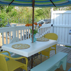 Eclectic Patio by Restyled Home