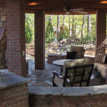 Retaining and Decorative Walls, Fences, Columns and gates