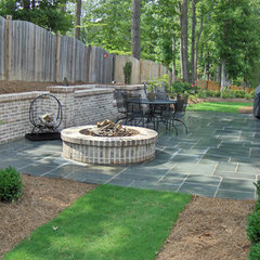 patio by ARNOLD Masonry and Concrete