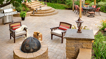 Retaining Wall, Firescape and Outdoor Kitchen Inspiration