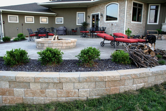 Traditional Patio by Deckscapes / DS Construction, Inc.