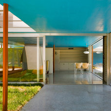 Midcentury Entry by Guy Peterson Office for Architecture