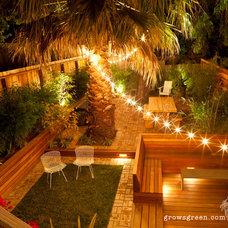 Contemporary Patio by Growsgreen Landscape Design