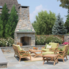 Traditional Patio by Walnut Hill Landscape Company