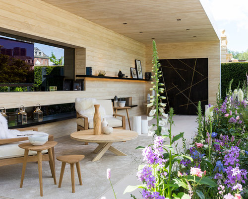 Design Ideas For A Scandi Patio In London.