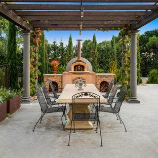 Photo of a mediterranean patio in Melbourne.
