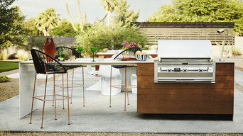 Richlite R50 - compressed paper panels for barbeque surround