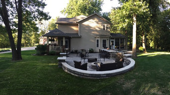 Richmond Patio and Fire Pit design