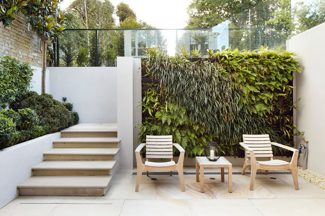 Contemporary Patio by Dyer Grimes Architecture